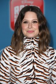Katie Lowes at Ralph Breaks the Internet Premiere in Hollywood 2018/11/05 10
