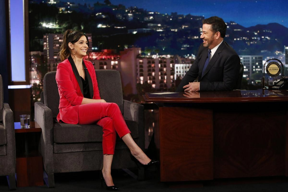 Katie Nolan at Jimmy Kimmel Live 2018/11/20 1