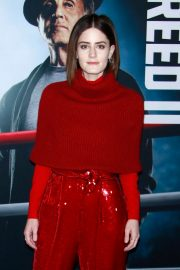 Kayla Foster at Creed II Premiere in New York 2018/11/14 2