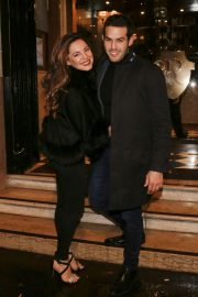 Kelly Brook Celebrates Her Birthday at Laperouse Restaurant in Paris 2018/11/23 6