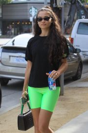 Kelly Gale Leaves a Gym in Hollywood 2018/11/27 9