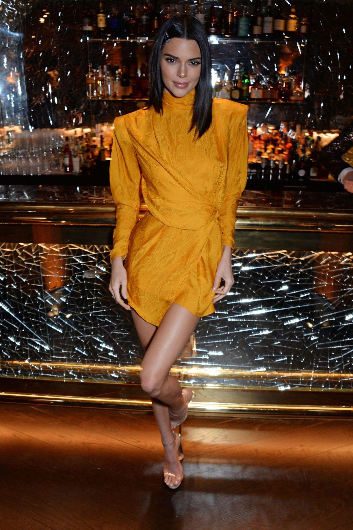 Kendall Jenner at Chaos SixtyNine Issue 2 Launch Party in London 2018/11/15 1