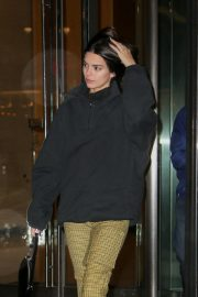 Kendall Jenner Leaves Victoria's Secret Offices in New York 2018/11/05 10
