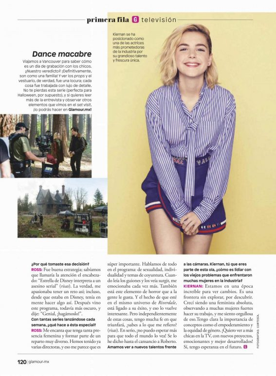 Kiernan Shipka in Glamour Magazine, Mexico November 2018 1