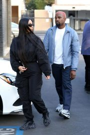 Kim Kardashian and Kanye West Out in Los Angeles 2018/11/17 3