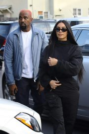 Kim Kardashian and Kanye West Out in Los Angeles 2018/11/17 5