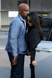 Kim Kardashian and Kanye West Out in Los Angeles 2018/11/17 10