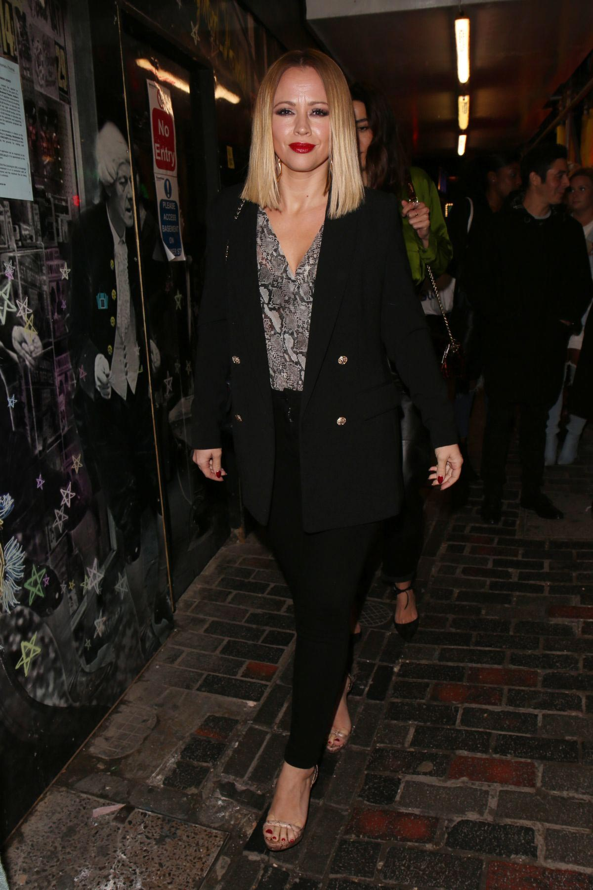 Kimberley Walsh at Dita Von Teese Private Gig in London 2018/11/14 1