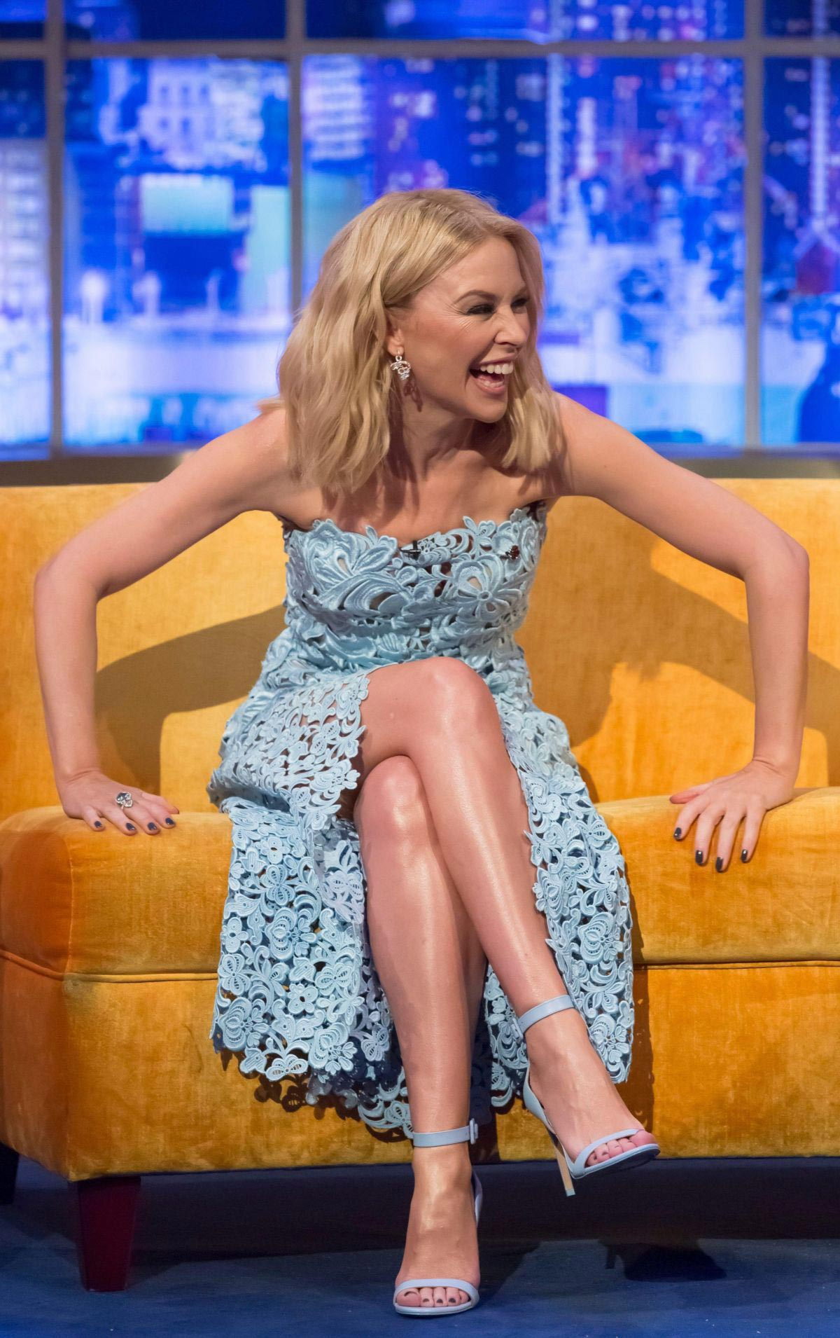 Kylie Minogue at Jonathan Ross Show in London, November 2018 1