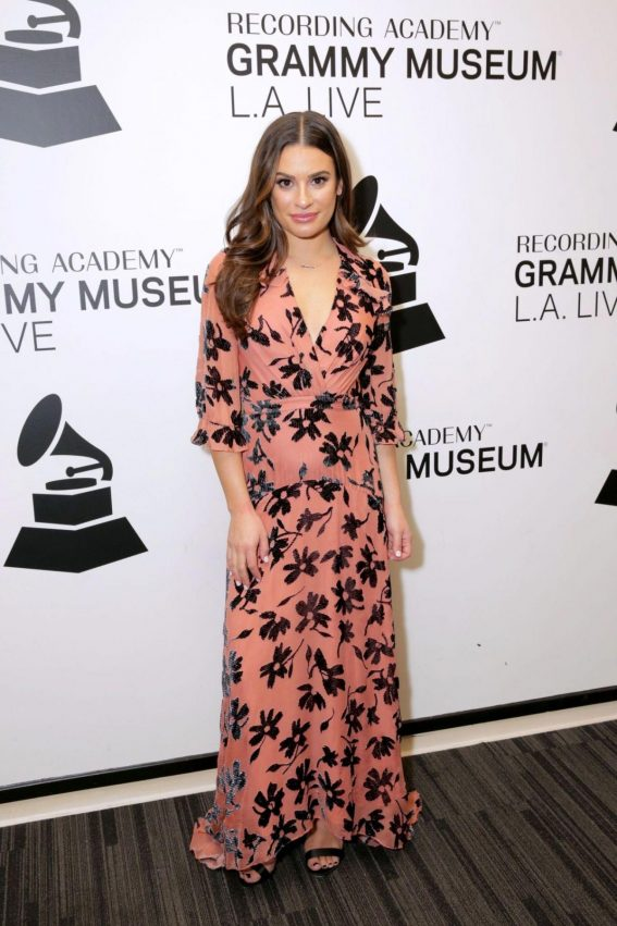 Lea Michele at An Evening with Lea at Grammy Museum in Los Angeles 2018/11/06 1