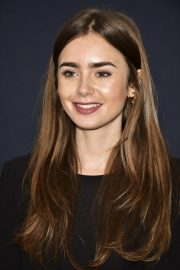 Lily Collins at Academy Nicholl Fellowships in Screenwriting Awards in Beverly Hills 2018/11/08 4