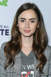 Lily Collins at Telethon for America at Youtube Space LA in Los Angeles 2018/11/05 2