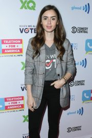 Lily Collins at Telethon for America at Youtube Space LA in Los Angeles 2018/11/05 6