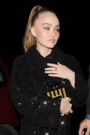 Lily-Rose Depp at a Chanel Party at Annabel's Club in London 2018/11/13 3