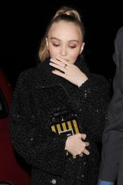Lily-Rose Depp at a Chanel Party at Annabel's Club in London 2018/11/13 6