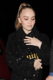 Lily-Rose Depp at a Chanel Party at Annabel's Club in London 2018/11/13 7