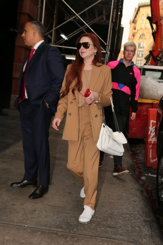 Lindsay Lohan Out and About in New York 2018/11/19 1