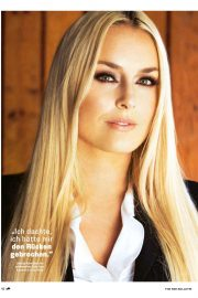 Lindsey Vonn in The Red Bulletin, December 2018 Issue 2