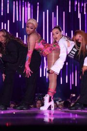 Little Mix and Nicki Minaj Performs at at MTV EMA's 2018 in Bilbao 2018/11/04 2
