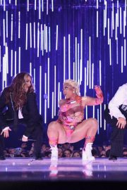 Little Mix and Nicki Minaj Performs at at MTV EMA's 2018 in Bilbao 2018/11/04 3