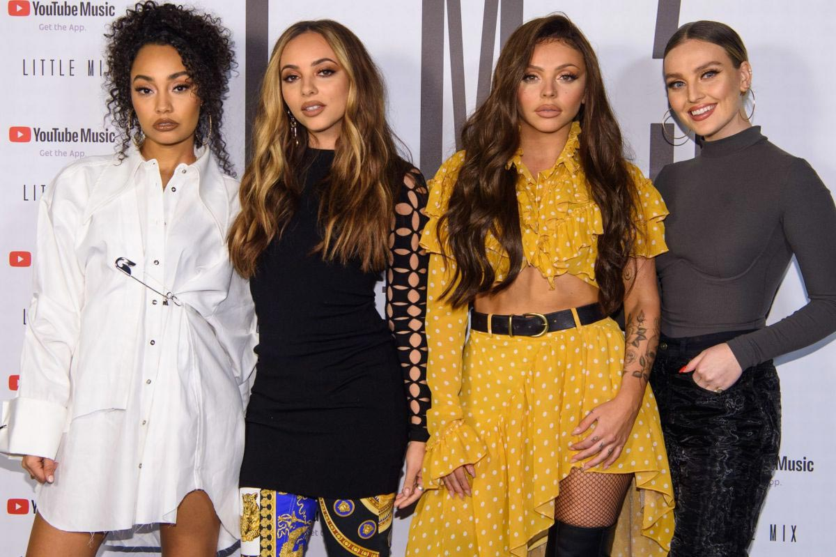 Little Mix at Youtube x Little Mix Present Strip Music Video in London 2018/11/16 1