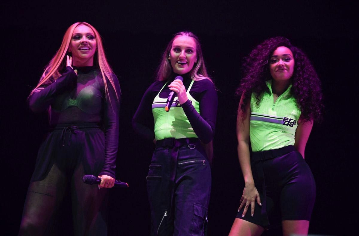 Little Mix Performs at Hits Radio Live in Manchester 2018/11/25 1