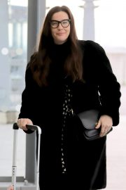 Liv Tyler at Heathrow Airport in London 2018/11/21 2