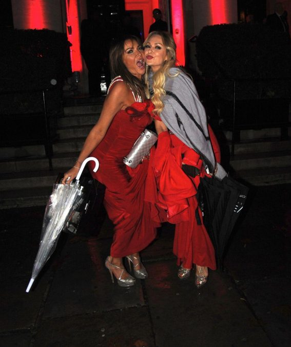 Lizzie Cundy and Kristina Rihanoff Night Out in London 2018/11/20 1