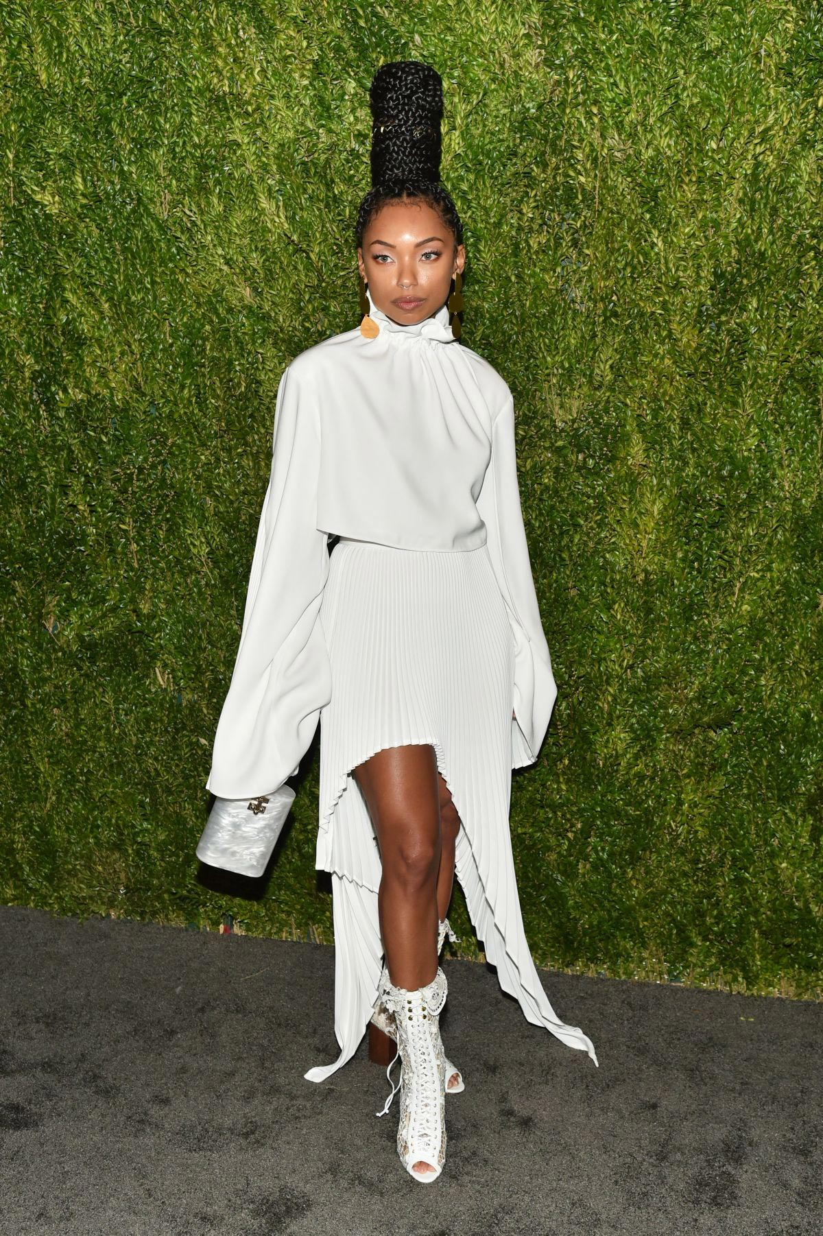 Logan Browning at CFDA/Vogue Fashion Fund 15th Anniversary in New York 2018/11/05 1
