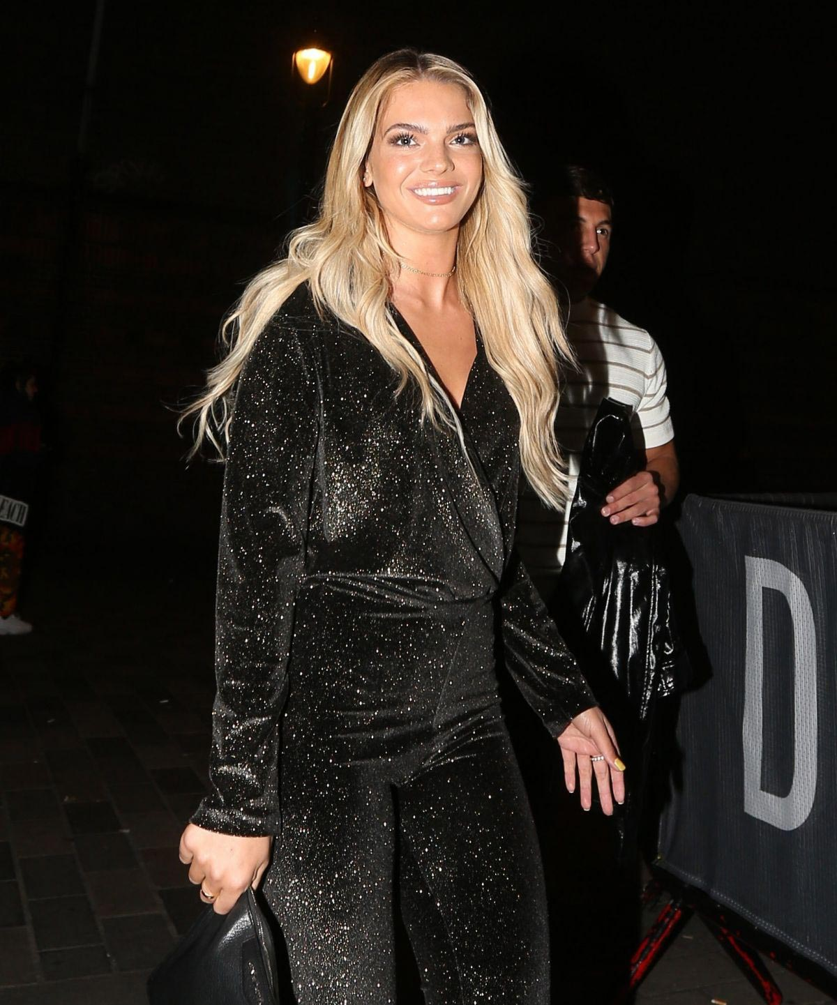 Louisa Johnson at Little Mix LM 5 Album Launch Party in London 2018/11/17 1