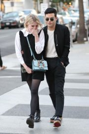 Lucy Boynton and Rami Malek Out in Beverly Hills 2018/11/14 2