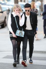 Lucy Boynton and Rami Malek Out in Beverly Hills 2018/11/14 3