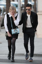 Lucy Boynton and Rami Malek Out in Beverly Hills 2018/11/14 5