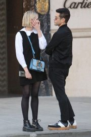 Lucy Boynton and Rami Malek Out in Beverly Hills 2018/11/14 7