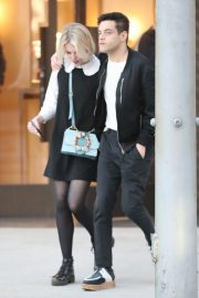 Lucy Boynton and Rami Malek Out in Beverly Hills 2018/11/14 8