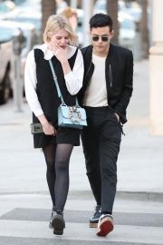 Lucy Boynton and Rami Malek Out in Beverly Hills 2018/11/14 10