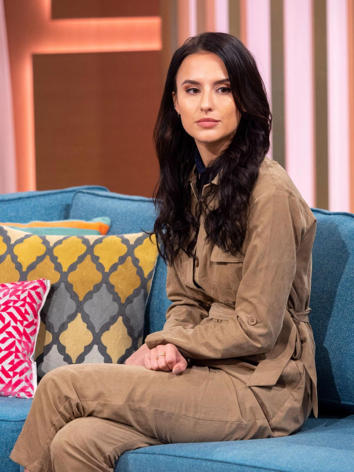 Lucy Watson at This Morning Show in London 2018/11/27 1
