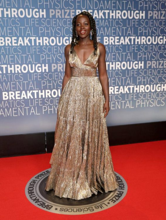 Lupita Nyong'o at 2019 Breakthrough Prize in Mountain View 2018/11/04 1