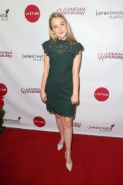 Macy Friday at Christmas Harmony Premiere in Los Angeles 2018/11/07 5