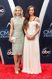 Maddie Marlow and Tae Dye at 2018 CMA Awards in Nashville 2018/11/14 1