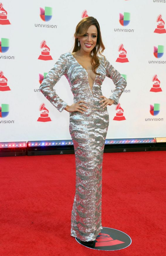 Marger Sealey at 2018 Latin Grammy Awards in Las Vegas 2018/11/15 1