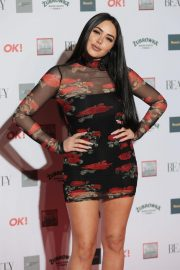 Marnie Simpson at Beauty Awards 2018 in London 2018/11/26 10