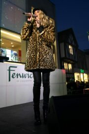 Megan McKenna Performs at Colchester Christmas Lights Switch 2018/11/25 2