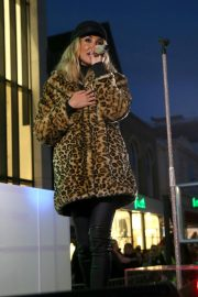 Megan McKenna Performs at Colchester Christmas Lights Switch 2018/11/25 3