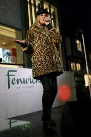 Megan McKenna Performs at Colchester Christmas Lights Switch 2018/11/25 4