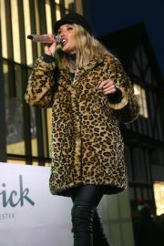 Megan McKenna Performs at Colchester Christmas Lights Switch 2018/11/25 5