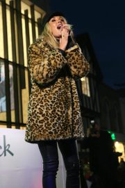 Megan McKenna Performs at Colchester Christmas Lights Switch 2018/11/25 6
