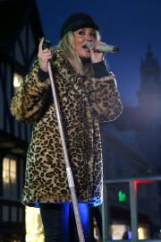 Megan McKenna Performs at Colchester Christmas Lights Switch 2018/11/25 7