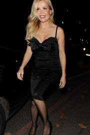 Melinda Messenger Arrives at Phil Turner's 50th Birthday Party in London 2018/11/14 2