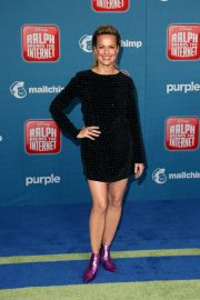 Melora Hardin at Ralph Breaks the Internet Premiere in Hollywood 2018/11/05 1